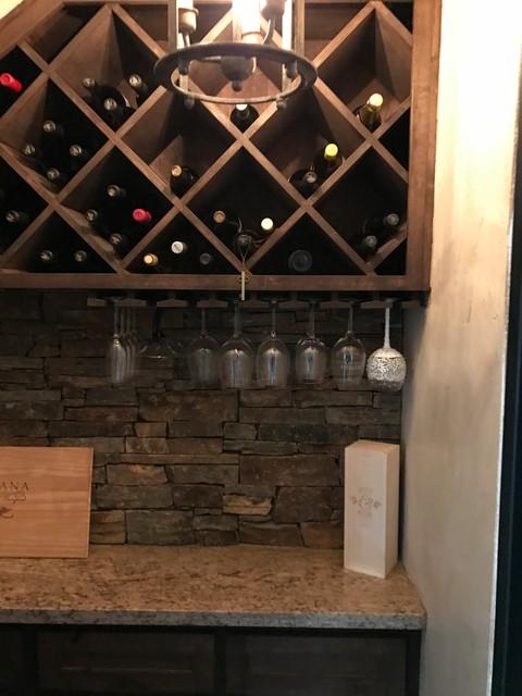 Conroe wine grotto for Wine grotto design