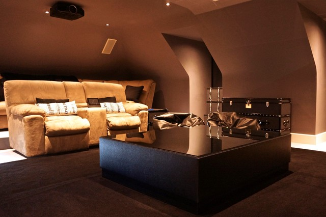 Gerrards Cross Contemporary Home Cinema London By