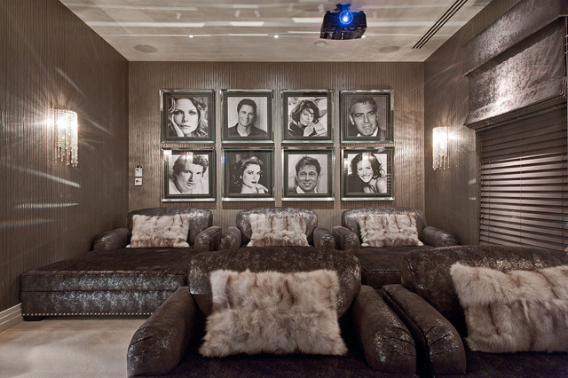 Hill House Interiors - St Georges Hill - Contemporary - Home Cinema ...