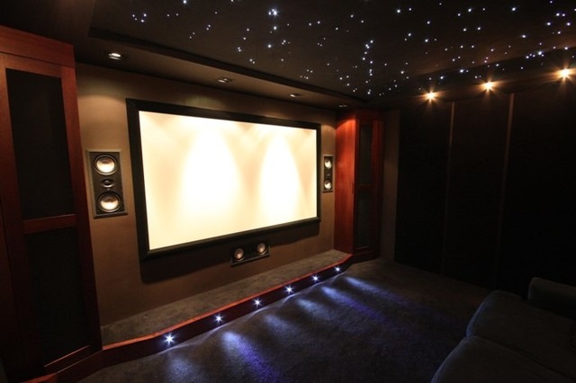 Home Cinema Room Contemporary Home Theater South West By 3rd Edition