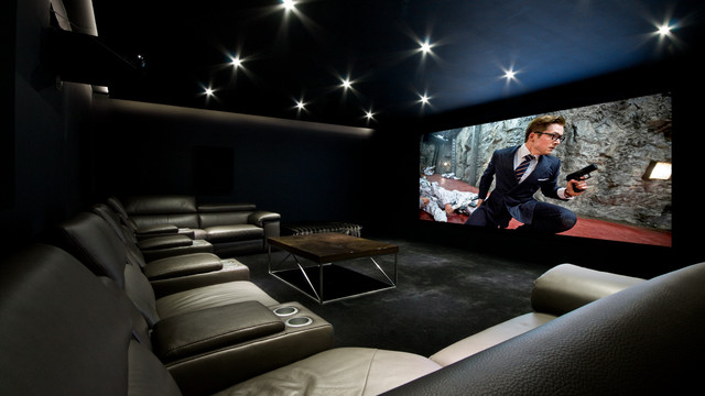 Home Cinema Room Derby Modern Home Cinema London