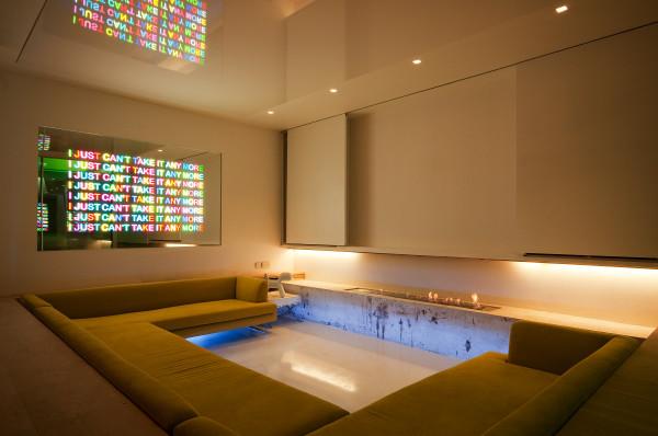 Inspired Lighting Solutions Modern Home Cinema London
