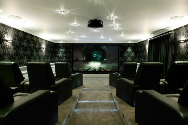 Luxe Home Cinema - Contemporary - Home Cinema - Other