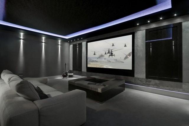 mediacube minimalistisch heimkino manchester von electrikery. Black Bedroom Furniture Sets. Home Design Ideas