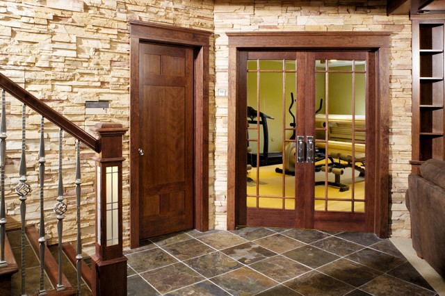 13 lite true divided lite french glass door in cherry for All glass french doors
