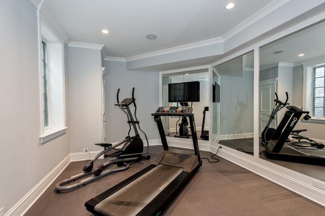 181 beach glencoe for Luxury home gym