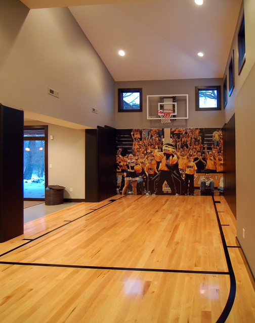 2010 Tour of Remodeled Homes modern-home-gym