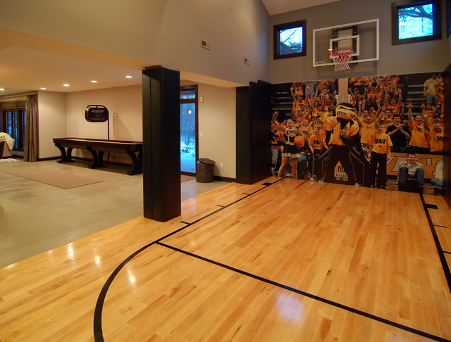 2010 Tour of Remodeled Homes modern home gym