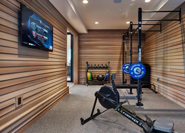 2015 PDX Street of Dreams - Joie de Vivre - Contemporary - Home Gym ...