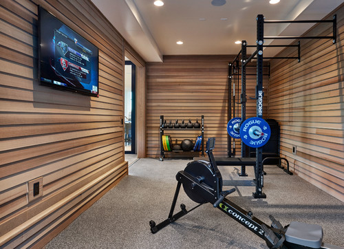 Home Gym Addition in Portland Oregon