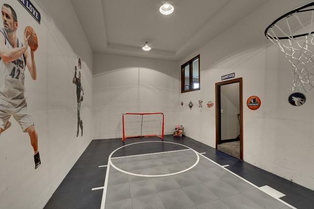 9707 Sky Lane traditional-home-gym