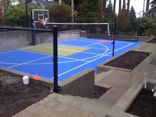 How much does something like this sports court cost for How much does a sport court cost