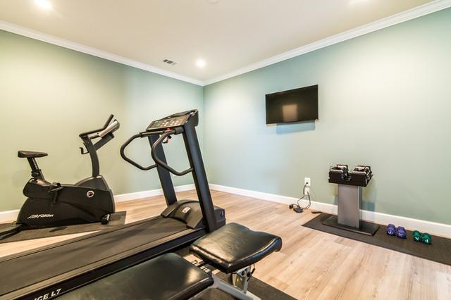 Miraculous Ashburn Basement With Custom Bar Custom Shelving Home Gym Download Free Architecture Designs Rallybritishbridgeorg