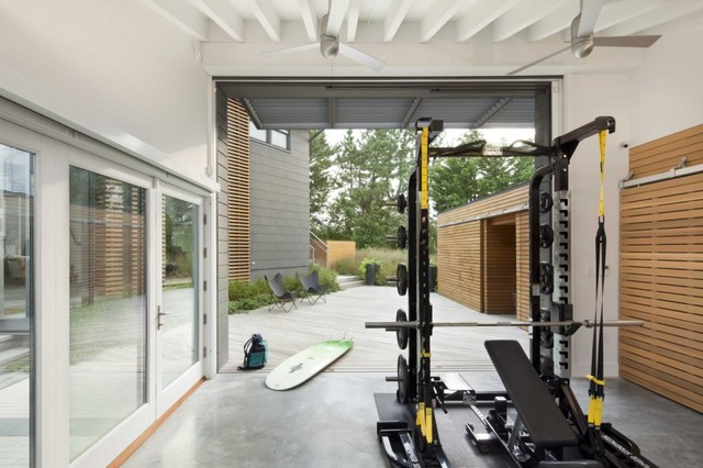Avalon Residence New Jersey Beach Style Home Gym