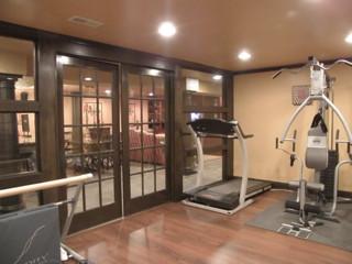 Basement 1 Traditional Home Gym Cincinnati By
