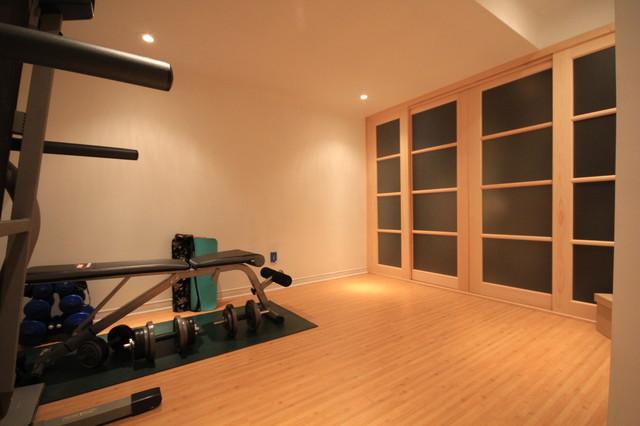 Basements asian-home-gym