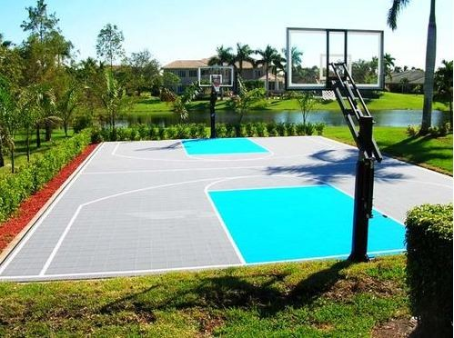 Basketball courts for How to build a basketball court at home