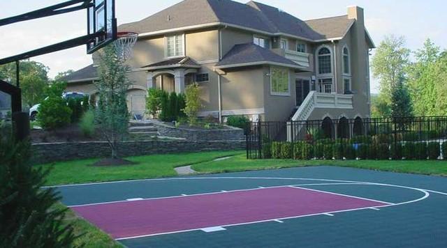 Basketball Courts home-gym