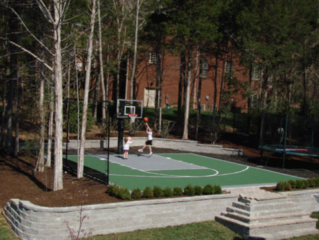 Basketball Courts - Home Gym - other metro - by VersaCourt