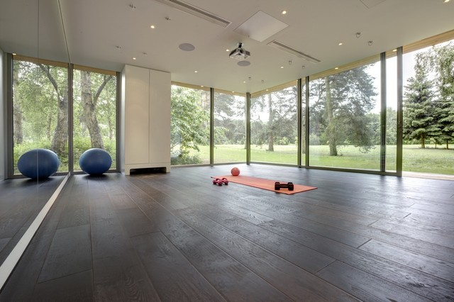 Bespoke Pilates studio Contemporary Home Gym Oxfordshire