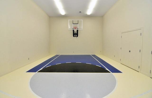 Bloomington 2 Story Traditional Home Gym Minneapolis