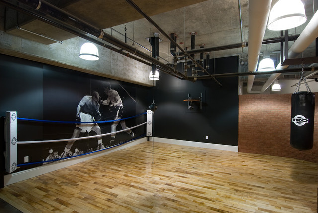 Boxing gym for Home gym interior design