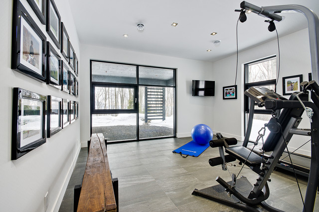 Bromont for Modern home gym