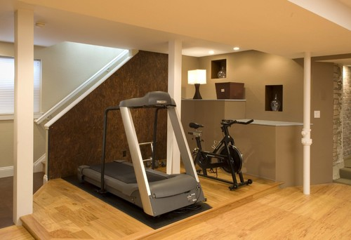 11 cool home gym ideas askmen for Best home gym design ideas