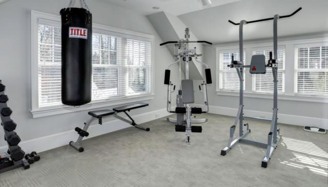 Home Gym Flooring Over Carpet Images
