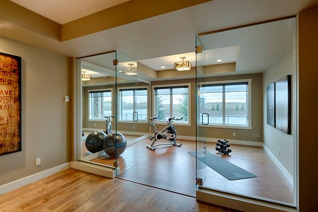Carrara contemporary-home-gym