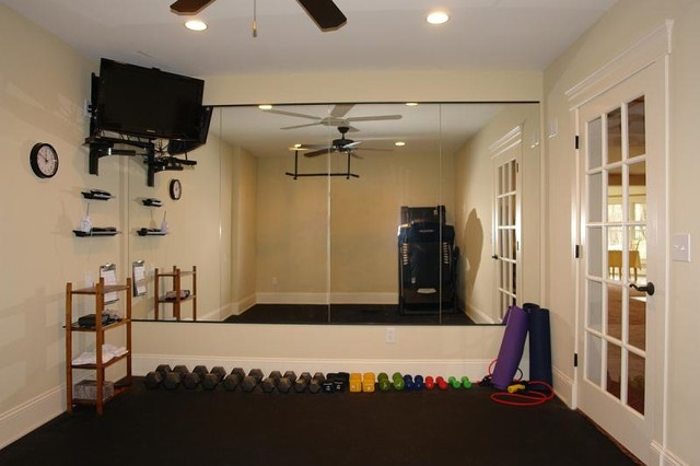 Cashion residence for Small room gym ideas
