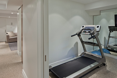 What Are The Dimensions Of This Home Gym I Like The Small Space - Small home gyms