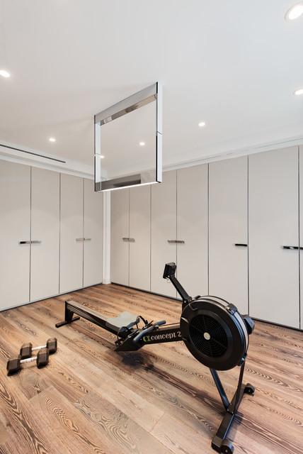 Contemporary Home Gym contemporary-home-gym