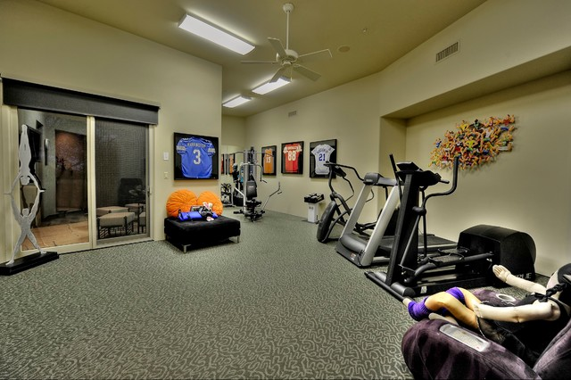 Contemporary project contemporary home gym other for Luxury home gym