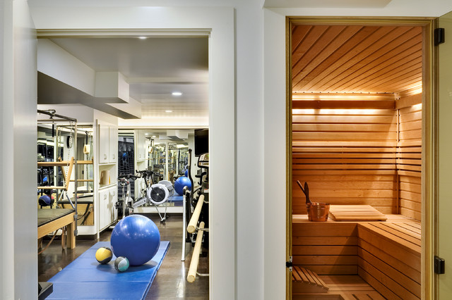 Crisp Architects Contemporary Home Gym New York By
