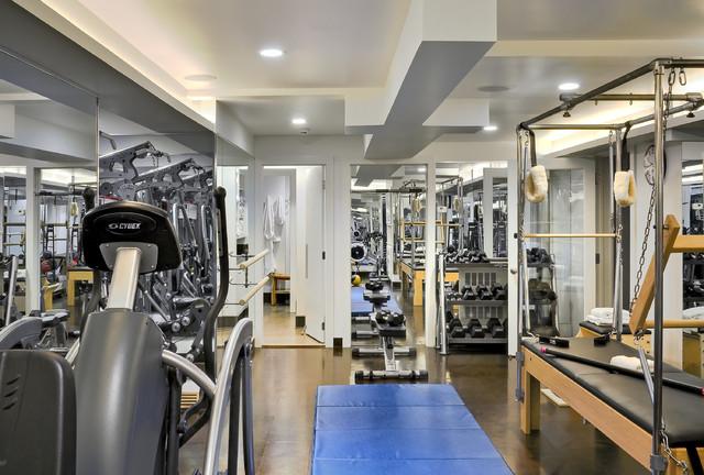 Crisp Architects contemporary-home-gym
