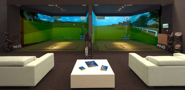 Custom Indoor Golf Rooms - Contemporary - Home Gym - Phoenix - by ...