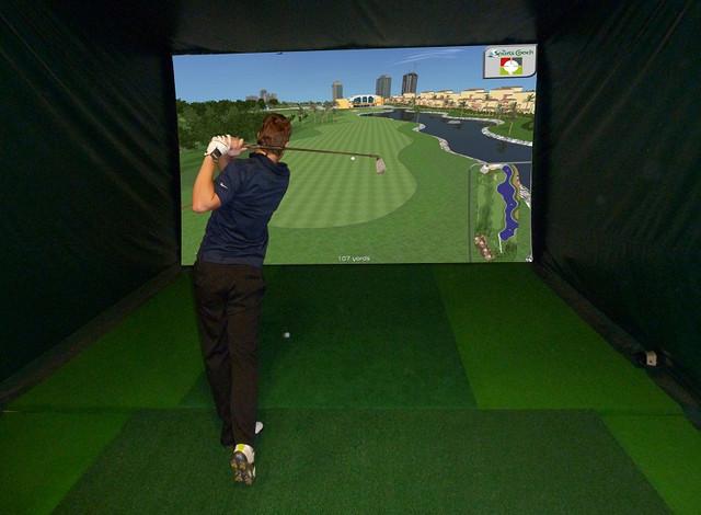 Custom Indoor Golf Rooms - Home Gym - Phoenix - by Indoor Golf Design