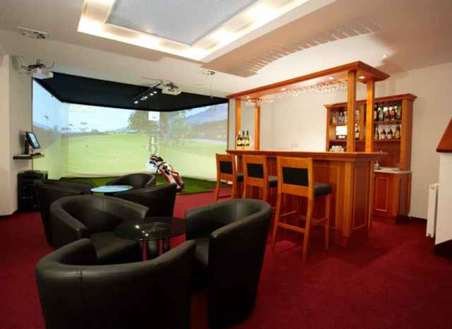 Custom Indoor Golf Rooms Home Bar Phoenix By Indoor