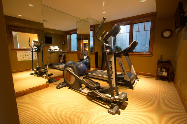 Custom on alta view rustic home gym other by