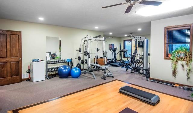 The Hansen Residence craftsman-home-gym
