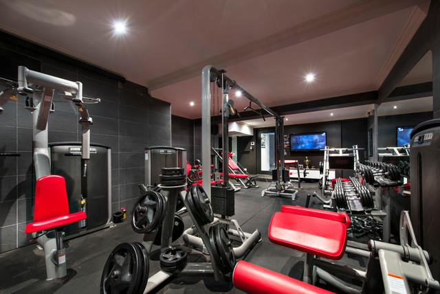 Dianella Residence Mediterranean Home Gym Perth By