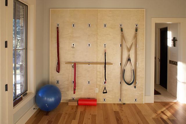 Driftwood Estate Eclectic Home Gym Austin By Matt