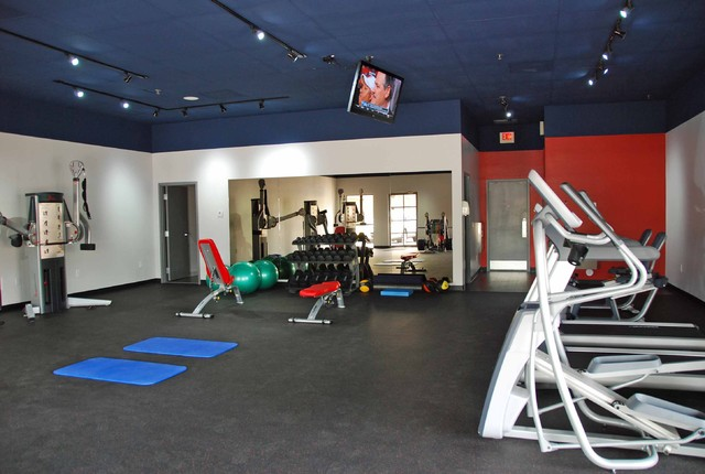 Edufit Contemporary Home Gym Phoenix By Katzdesigngroup