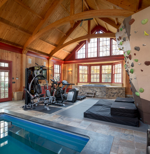Home Exercise Equipment Small Space: 11 Cool Home Gym Ideas