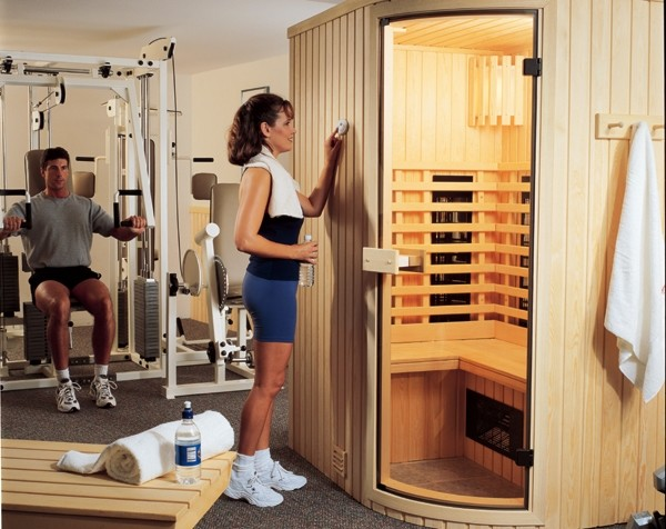 Finnleo Saunas Contemporary Home Gym Other Metro