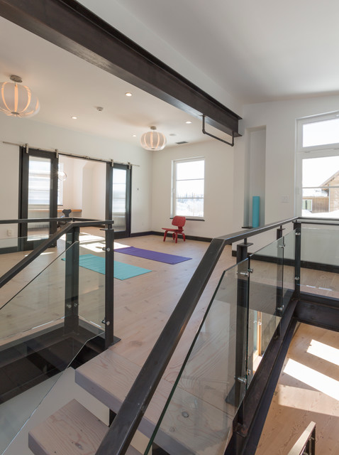 Fish Creek Remodel contemporary-home-gym