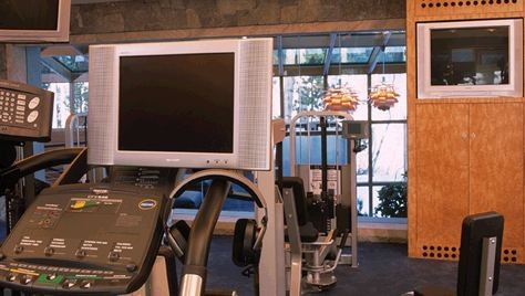 Fully Integrated Mountain Estate - Modern - Home Gym ...