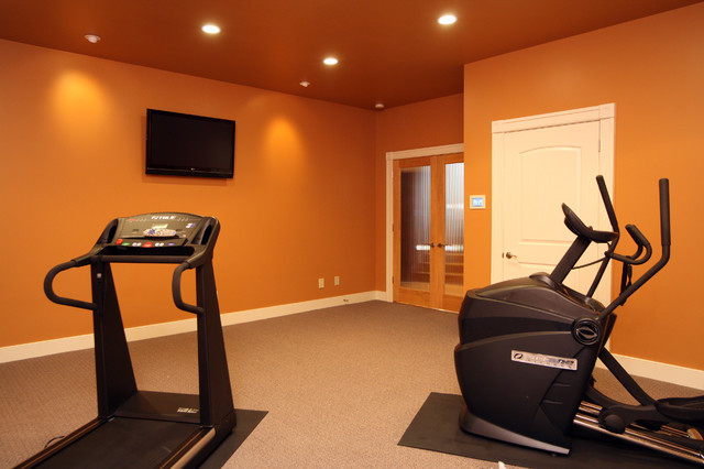 Gardner Project traditional-home-gym