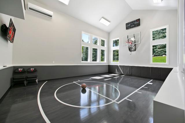 indoor basketball court ceiling height gunflint